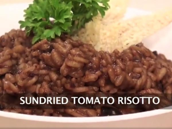 how to prepared sundried tomato Risotto