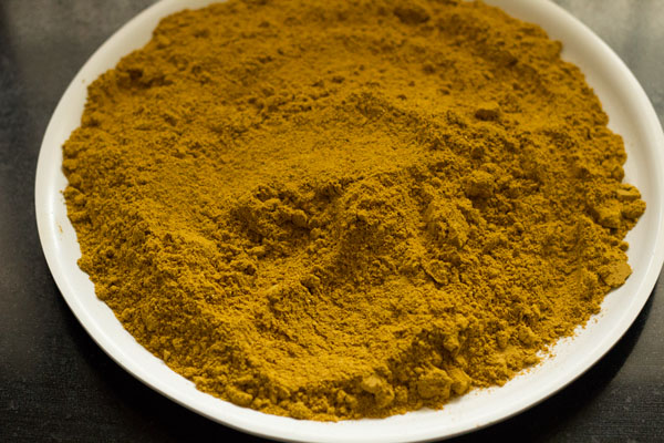 making sambar powder recipe