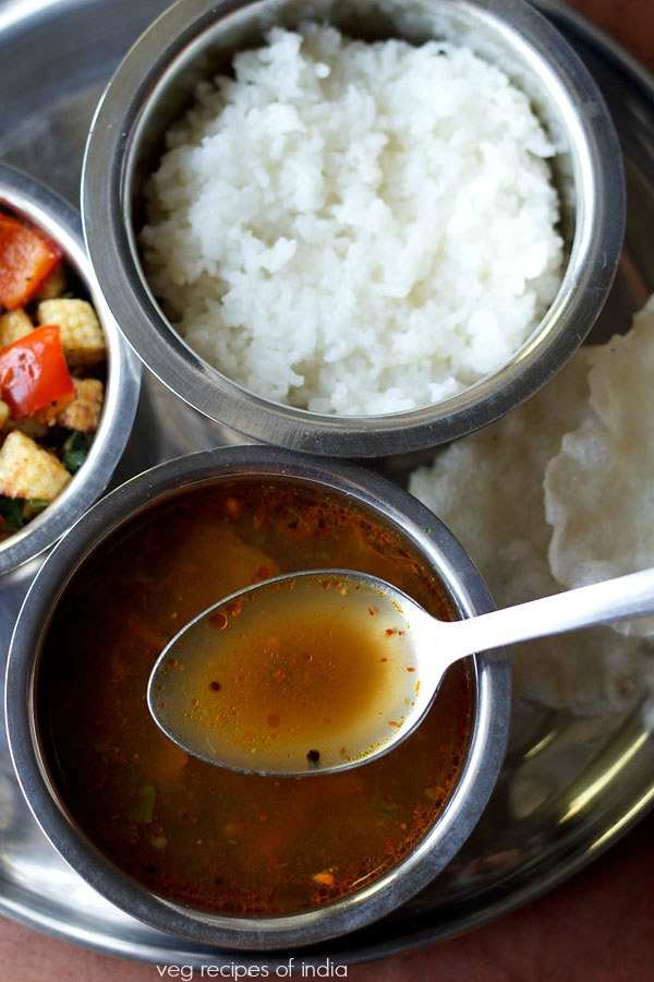 pepper rasam recipe, how to make pepper rasam or milagu rasam