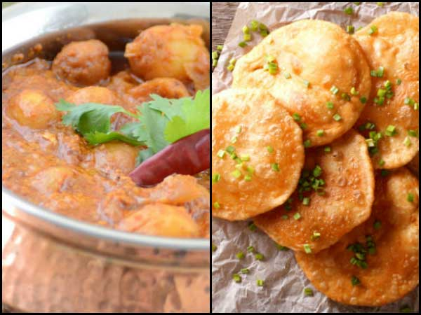 how to ready luchi and aloo dum recipe
