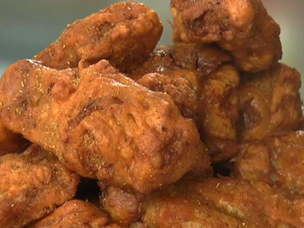 Indian Style Chicken Wings
