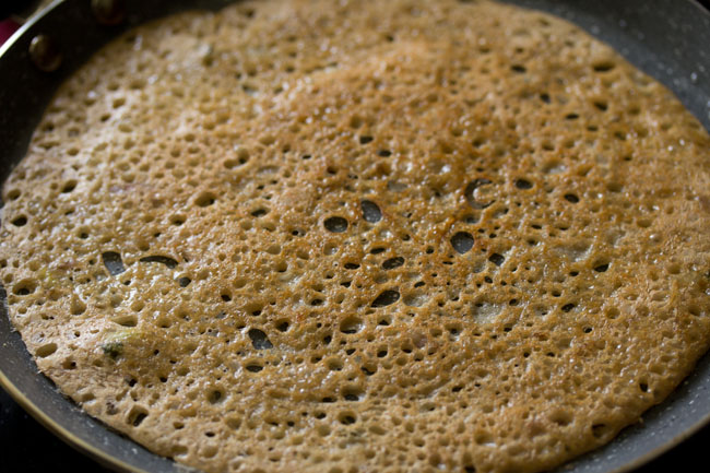 making atta dosa recipe