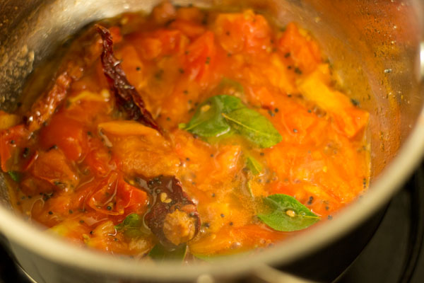 making pepper rasam recipe