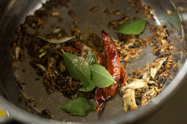 curry leaves for pineapple rasam recipe