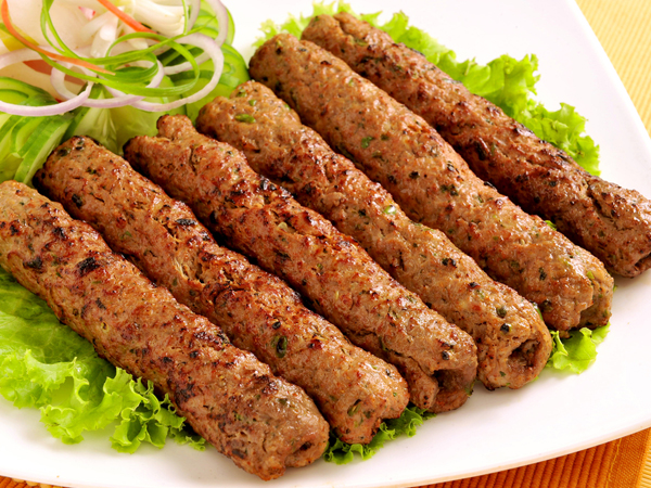 how to prepared mutton seekh kababs
