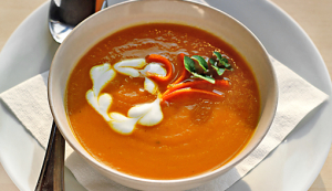 Ginger Carrot Soup Recipe