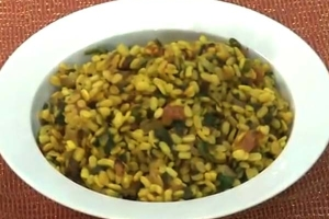 Middle Eastern Rice With Black Beans And Chickpeas   Tamil Foods